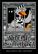 Hoodie Digital Art - Aint Life Somethin? by S Desiata