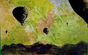 Balloons Mixed Media Originals - Air Balloons by Matt Stalf