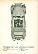 Vintage Car Advert Digital Art - Air Cooled People by Nomad Art And  Design