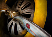 Airplane Propeller Prints - Air - Pilot - Ready for take off Print by Mike Savad