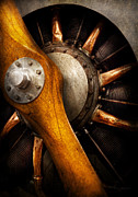 Steam Engine Prints - Air - Pilot - You got props Print by Mike Savad