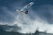 Laird Hamilton Photos - Airborn In Hawaii by Bob Christopher