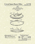 1960 Drawings Posters - Aircraft 1960 Patent Art Poster by Prior Art Design