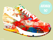 Nike Metal Prints - Airmax 90 Metal Print by Mops