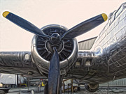 Airplane Propeller - 01 Print by Gregory Dyer