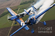 Saint Joseph Prints - Airplanes Perform At The Sound Of Speed Print by Stocktrek Images