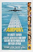 Motion Picture Poster Framed Prints - Airport Framed Print by Movie Poster Prints