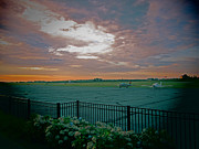 Outdoor Airport Posters - Airport Sunrise  Poster by Todd Breitling