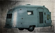 Camper Framed Prints - Airstream  Framed Print by Edward Fielding
