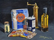 Brunch Paintings - Aisles Six and Seven by David Larsen