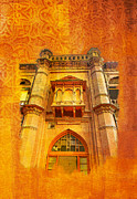 Medieval Temple Paintings - Aitchison College by Catf