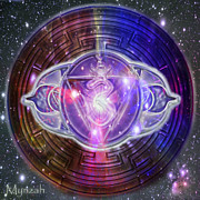 Third Eye Digital Art - Ajna Third Eye Chakra by Mynzah
