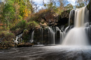 Akron Falls Print by Mark Papke