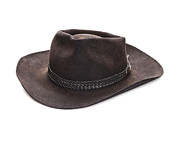 Australian Photos - Akubra Hat by Colin and Linda McKie