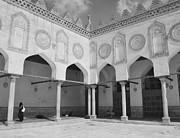 Al Azhar Mosque Cairo Print by Nigel Fletcher-Jones