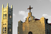 Annunciation Originals - Al Bishara Church by Munir Alawi