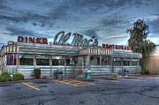 Greasy Spoon Prints - Al Macs Diner Print by Andrew Pacheco