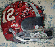 Sports Art Mixed Media - Alabama #12 by Alaina Enslen