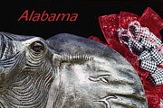 Bear Bryant Art - Alabama by Kathy Clark
