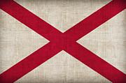 Alabama State Flag Print by Pixel Chimp