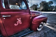 Crimson Tide Posters - Alabama Truck Poster by Michael Thomas