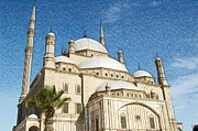 Alabaster Prints - Alabaster Mosque in Cairo Print by Galexa Ch