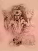 Supernatural Drawings - Aladdin by Derrick Higgins