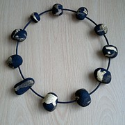 Polymer Jewelry - Alam Necklace by Iliana Tosheva