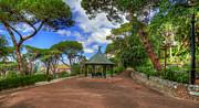 English Landscapes - Alameda Gardens Pavillion Gibraltar