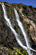Waterfall Photos - Alamere Falls Two by Garry Gay