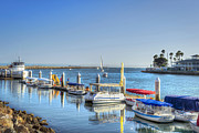 David  Zanzinger - Alamitos Bay Boat Dock Long Beach CA