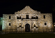 Texas Revolution Prints - Alamo Mission Print by Heather Applegate