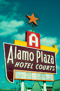 Oak Cliff Framed Prints - Alamo Plaza Hotel Dallas Framed Print by Sonja Quintero