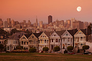 The Houses Posters - Alamo Square II Poster by Christian Heeb