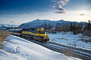 Train Track Prints - Alaska 3010 Print by Ed Boudreau