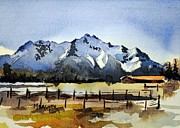 Mckinley Painting Prints - Alaskan Springtime Print by Spencer Meagher