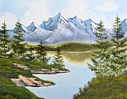 Alaskan Landscapes Posters - Alaskan Summit Poster by Jeffrey Campbell