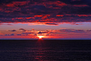 Alaskan Sunset Print by Bob Hislop