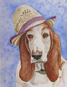 Fedora Paintings - Albee by Carol Blackhurst