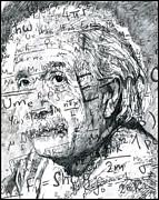 Albert Einstein Print by Kyle Willis