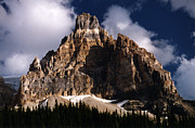 Robert Lozen Metal Prints - Alberta Canada  Mt. Peak Metal Print by Robert Lozen
