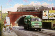 Streetscene Paintings - Albion mixer. by Mike  Jeffries