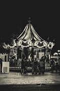 The Strip Photo Framed Prints - Albufeira Street Series - Merry-Go-Round Framed Print by Marco Oliveira