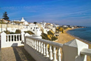 Featured On Faa - Albufeira village by the sea by Heiko Koehrer-Wagner