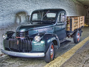 Alcatraz Photo Prints - Alcatraz 1940 Chevy Utility Truck Print by Daniel Hagerman