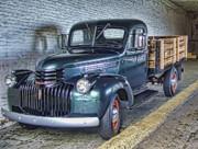 Alcatraz 1940 Chevy Utility Truck Print by Daniel Hagerman