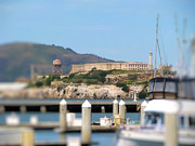 Alcatraz Prints - Alcatraz Print by Daniel Christenson