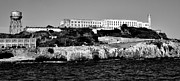 Alcatraz Photo Prints - Alcatraz Federal Prison Print by Benjamin Yeager