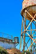 Alcatraz Photos - Alcatraz Guard Tower by James O Thompson