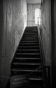 Alcatraz Art - Alcatraz Hospital Stairs by RicardMN Photography